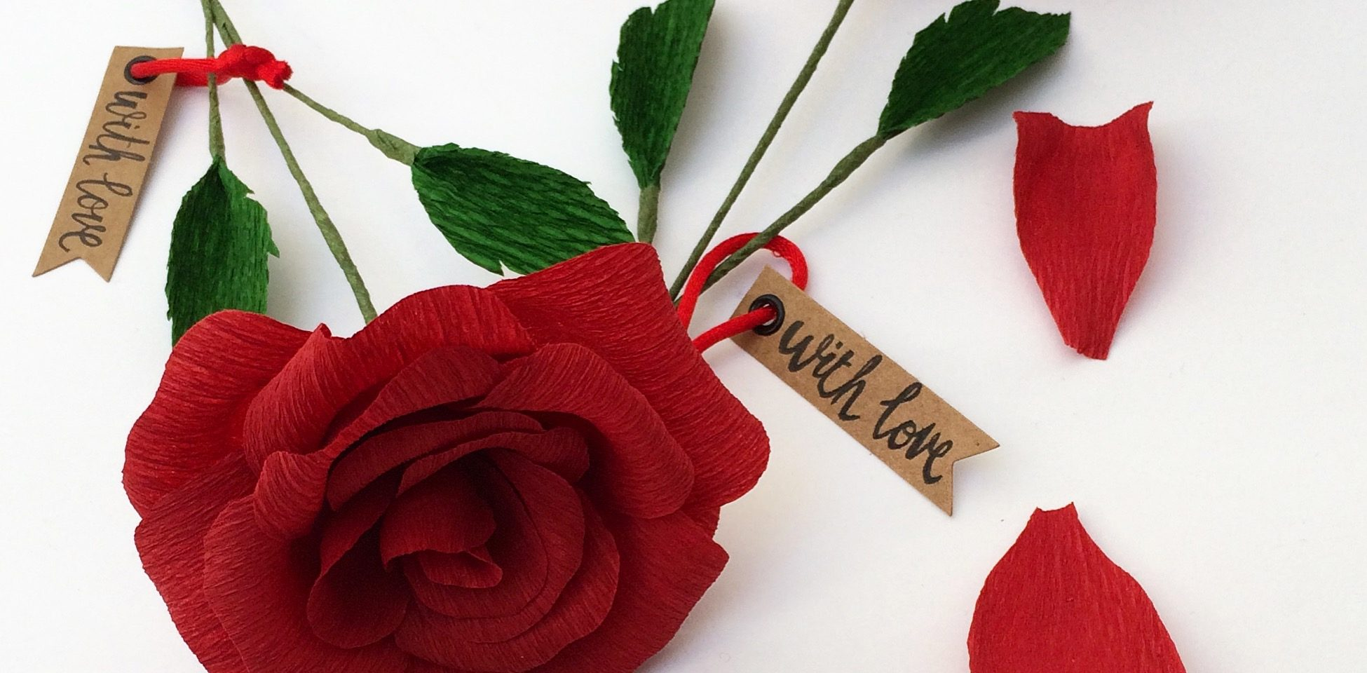 paper flower testimonials , red roses paper roses valentines day rose