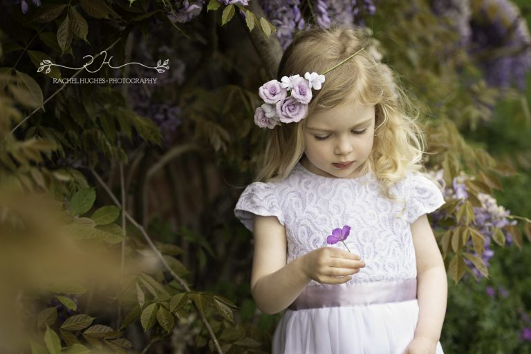 paper flower crown, paper flowers, flowergirl