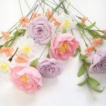 Wedding Bouquet Recreation, paper flowers