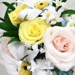 Wedding Bouquet Recreation, first wedding anniversary bouquet, paper bouquet, paper flowers, bouquet recreation