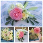 Wedding Bouquet Recreation, paper flowers recreation