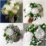 Wedding Bouquet Recreation, bouquet recreation, anniversary bouquet, keepsake, paper flowers, paper