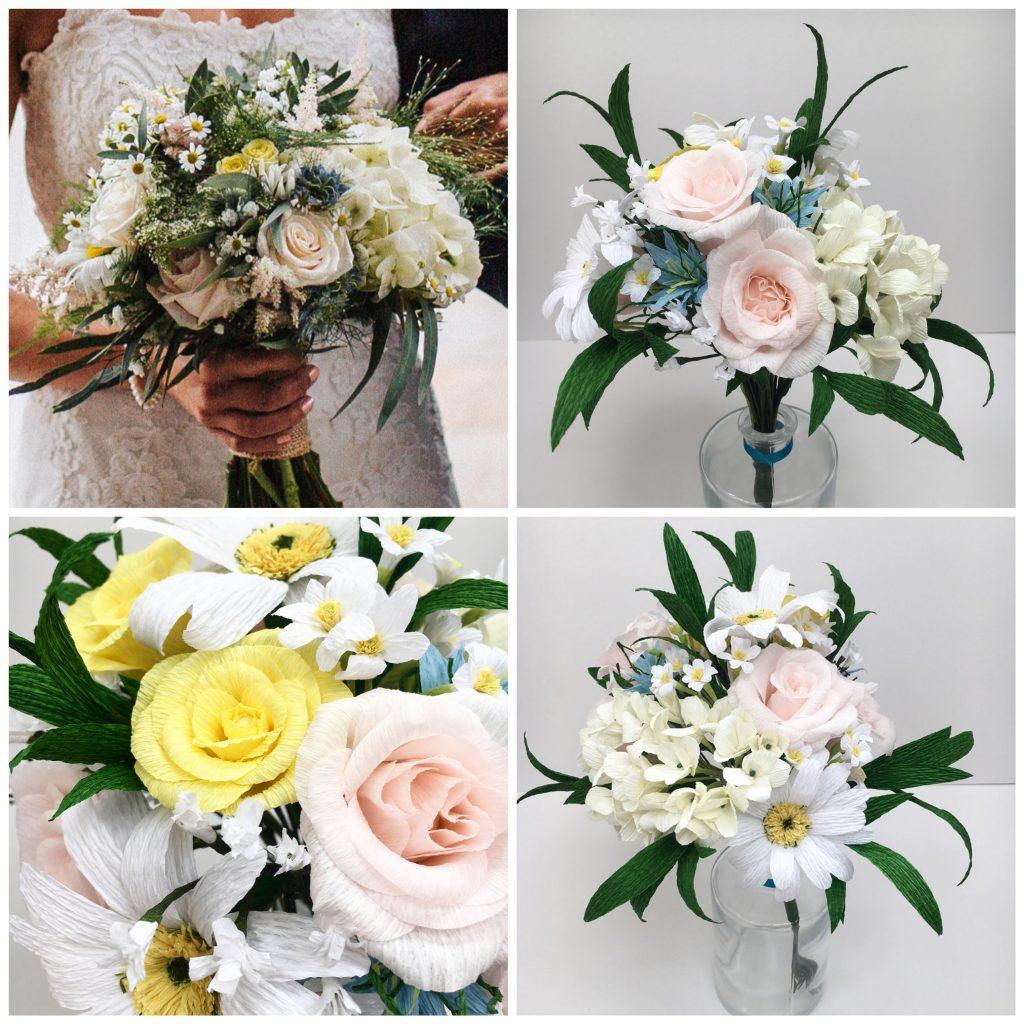 bouquet recreation, anniversary gift, paper bouquet, paper anniversary