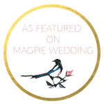 petal and bird featured on magpie wedding