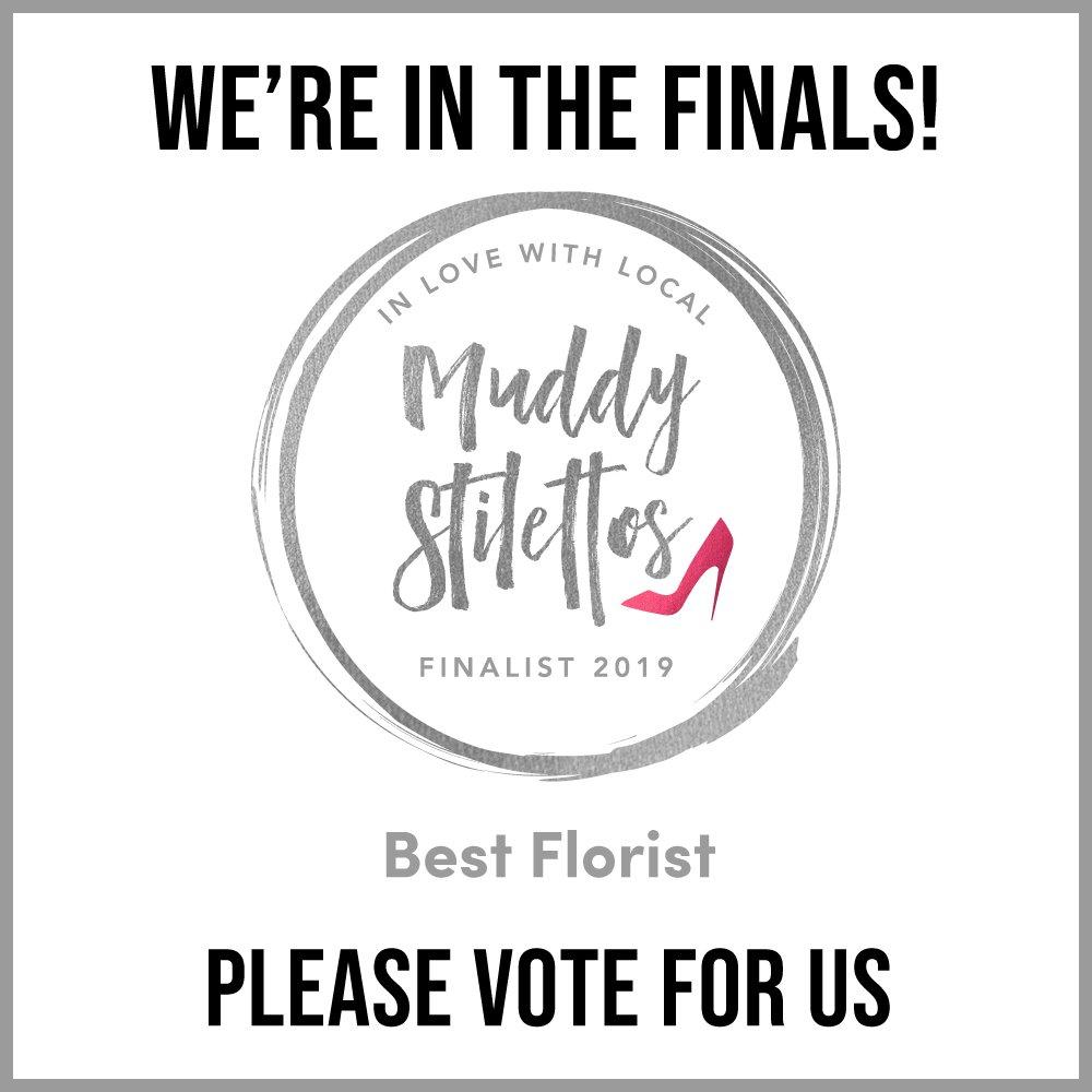 Best Florists Finalist Sussex Muddy Stilettos Awards