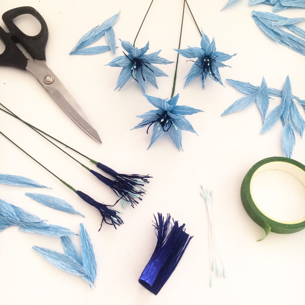 paper love in a mist by petal and bird