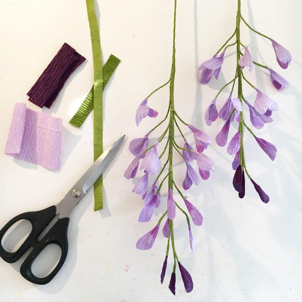 paper wisteria