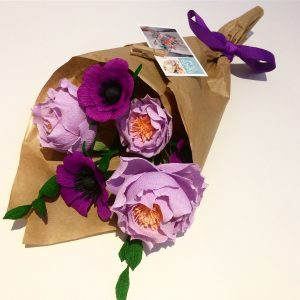 mothers day paper bouquet