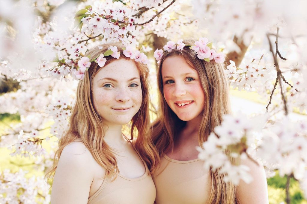 paper blossom flower crowns