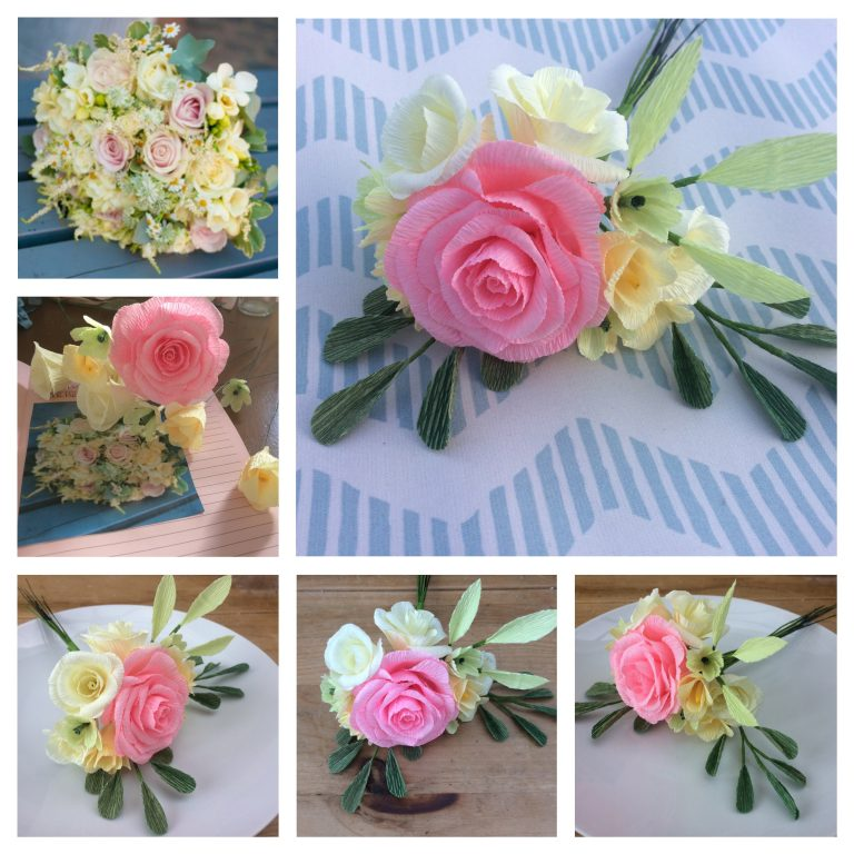 paper flowers recreation