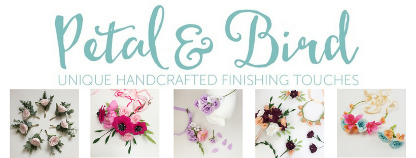 petal and bird paper flowers, paper flower bouquets, gallery, bouquet recreation