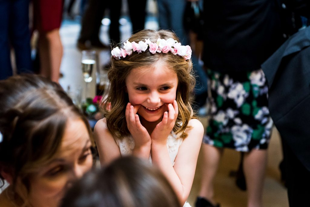 flower crowns, flowergirl, petal and bird, paper flowers, wedding flowers