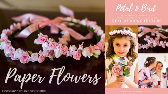 Petal and Bird paper flower crowns blog, paper flower crowns