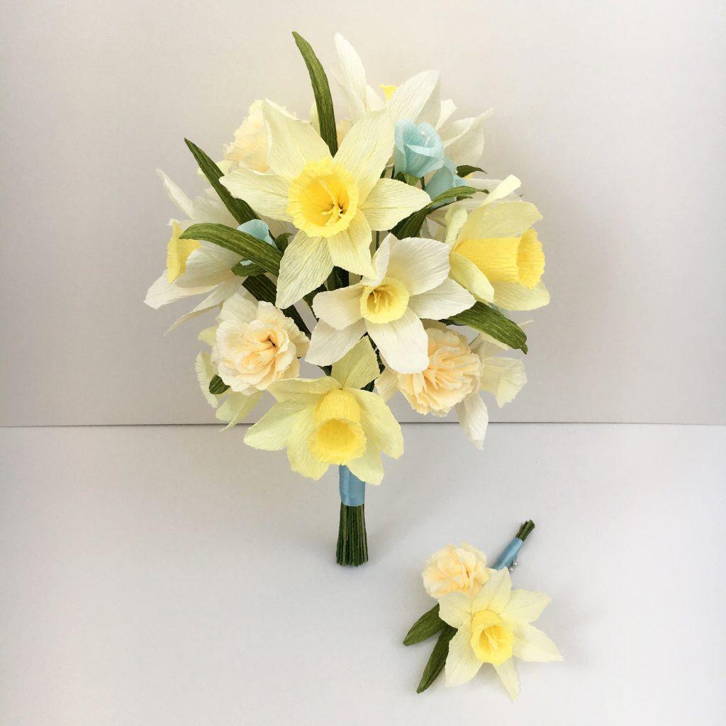 paper wedding bouquet, paper bouquet, paper flowers. wedding flowers
