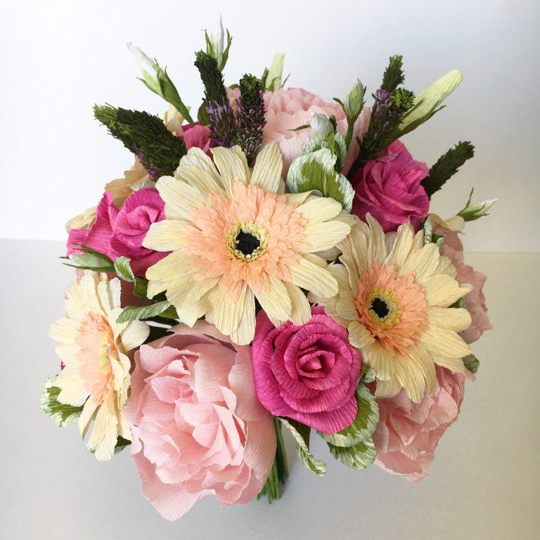 paper wedding bouquet recreation anniversary gift