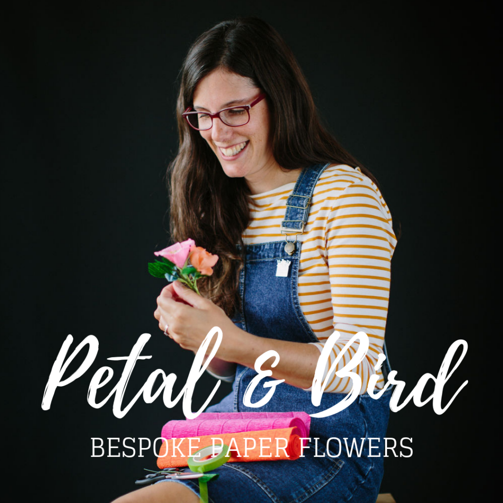 Clare Davies of Petal and Bird Paper Florist