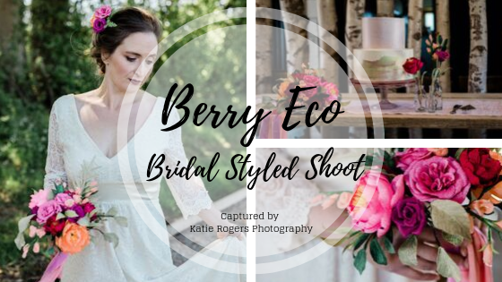 Eco wedding styled shoot featuring Petl and Bird paper flowers