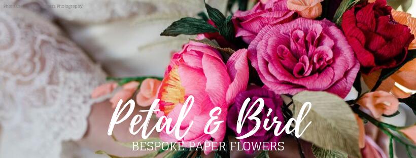 Petal and Bird Paper Florist