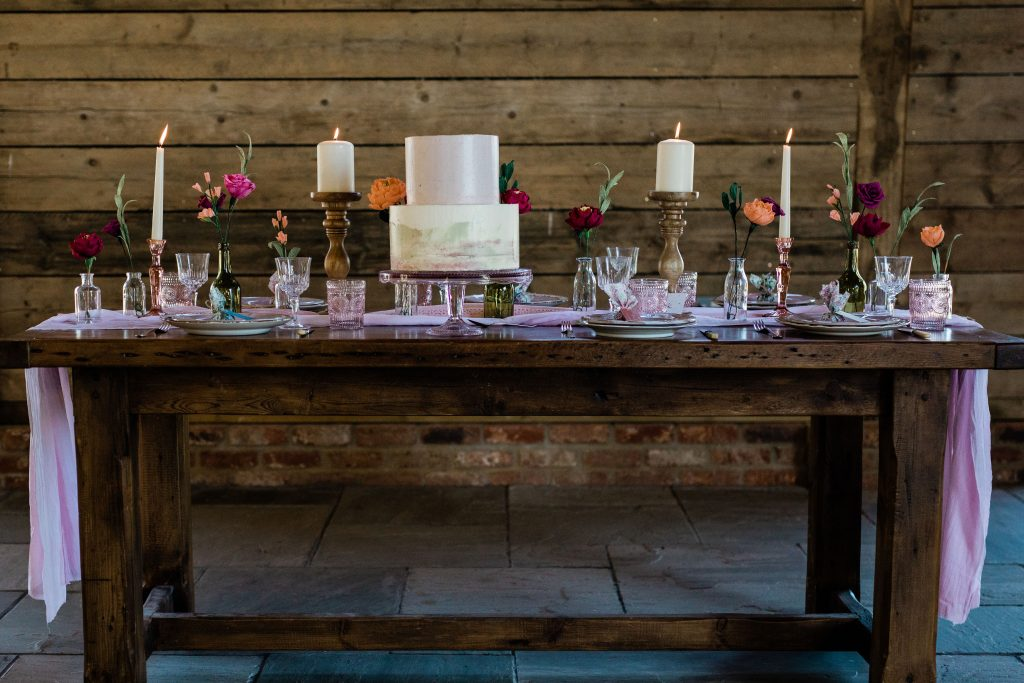 Eco friendly wedding styled shoot