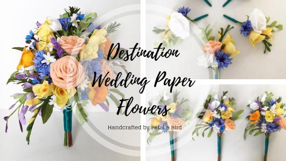 Destination wedding Flowers blog banner