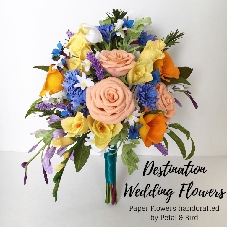 destination wedding flowers by Petal and Bird