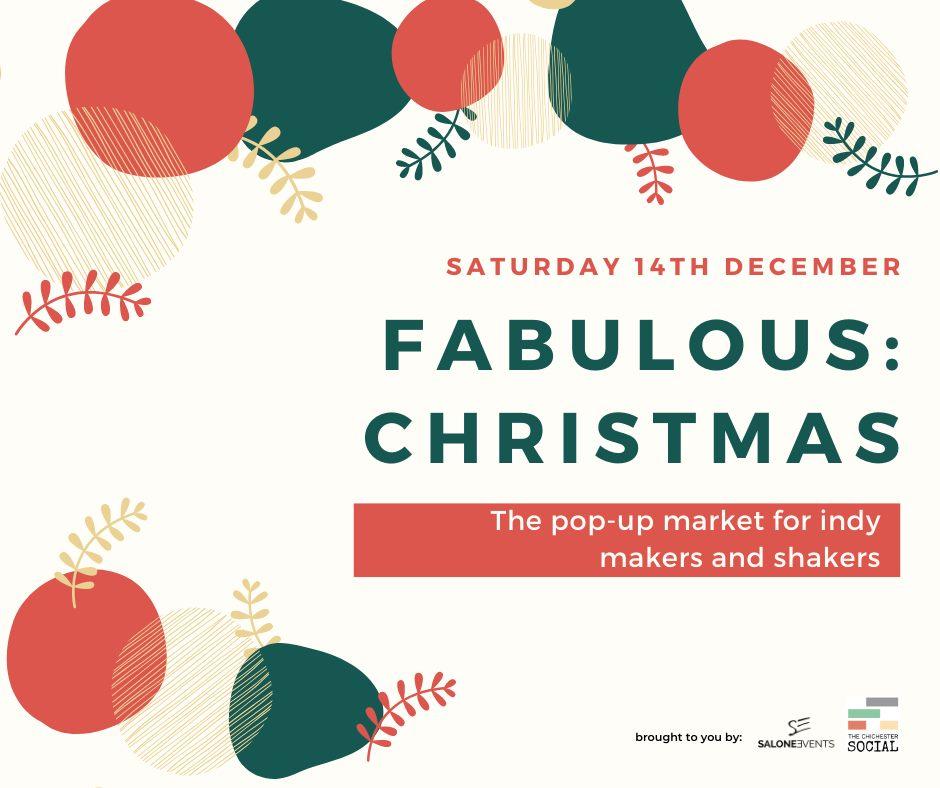 fabulous christmas market chichester 14th December