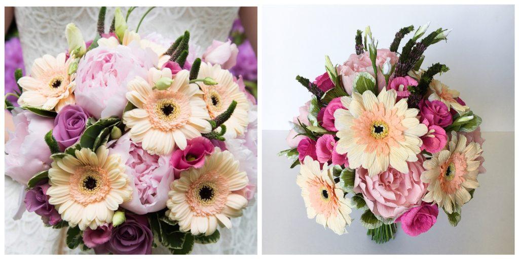 paper wedding anniversary flowers