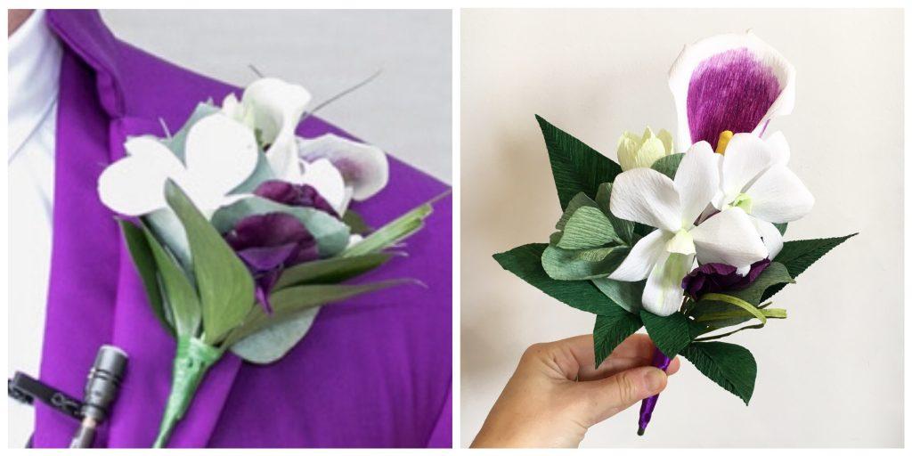 paper buttonhole
