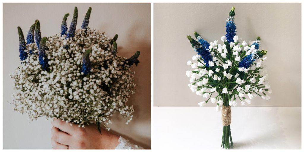 paper bouquet recreation