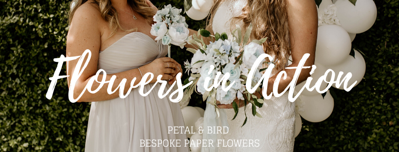 Flowers in Action by Petal & Bird