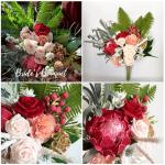 Wedding Bouquet Paper Replica