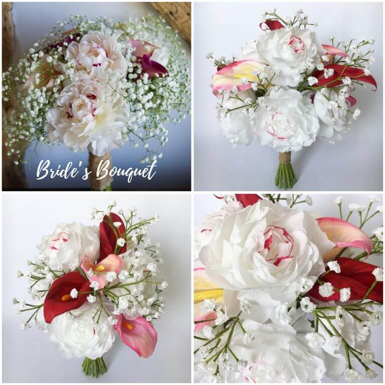wedding bouquet recreation
