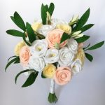 Paper Rose wedding Bouquet
