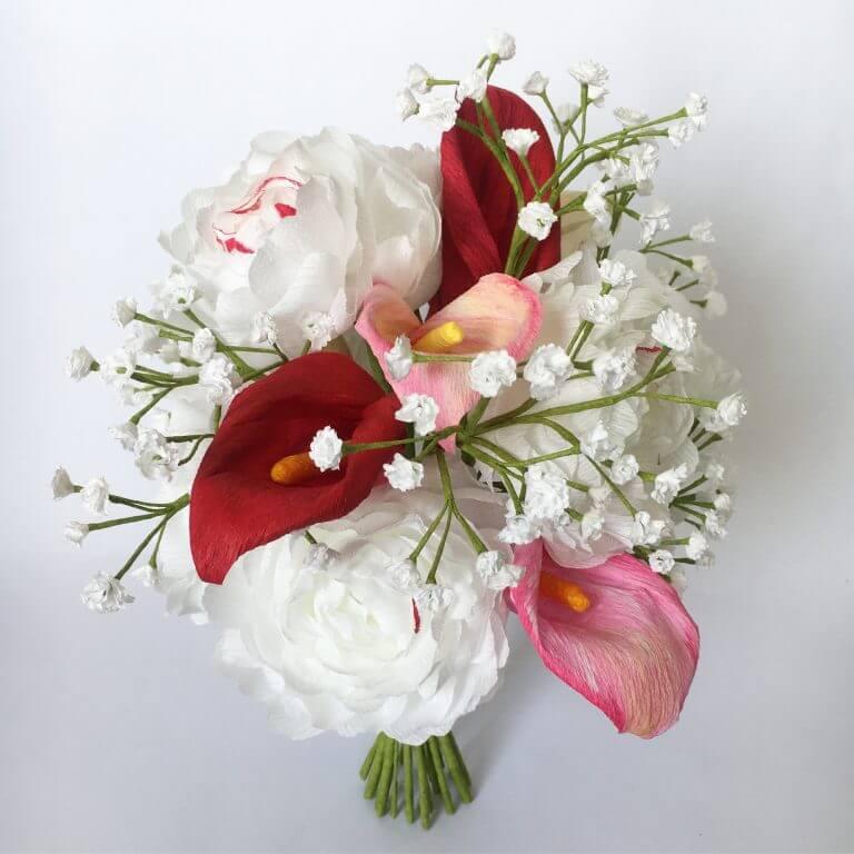 Paper Wedding Bouquet by Petal and Bird