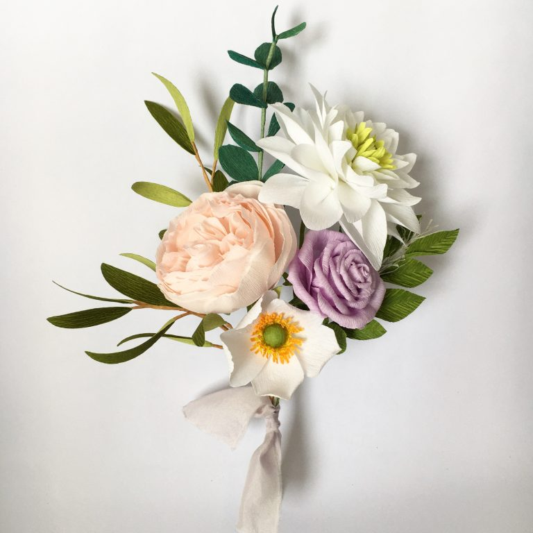 paper posy by Petal and Bird